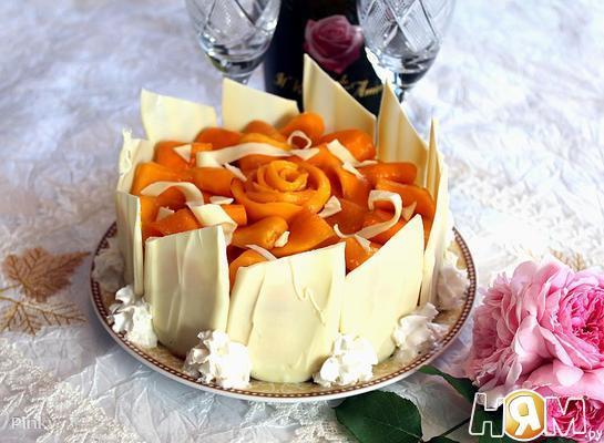 Кремовый чизкейк с манго