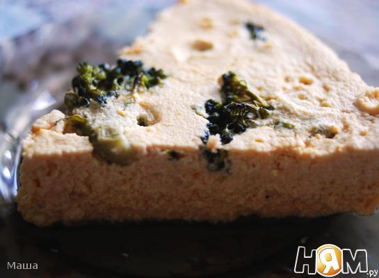 Рецепт Суфле из кабачков с брокколи