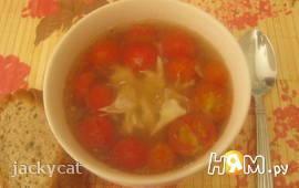 Суп по-мексикански с  черри
