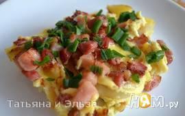 Земниеку брокастис ( крестьянский завтрак)