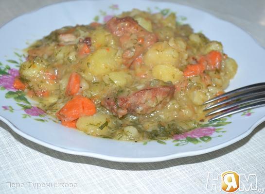 Рецепт Овощное рагу с мясом