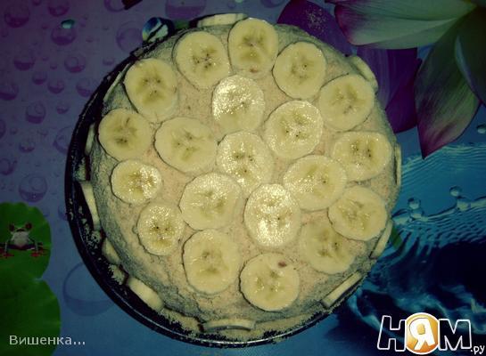 Рецепт Торт «Банановый рай» (без выпечки)