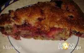 Тосканский сливовый пирог