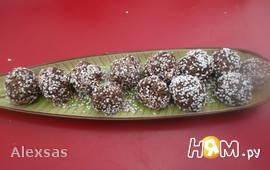 Шоколадные шарики с герулесом