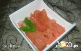 Засоленный лосось