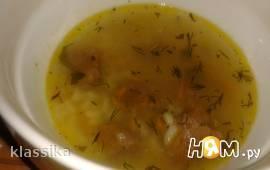 Суп из говядины с рисом