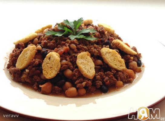 Рецепт Домашнее рагу по-мексикански