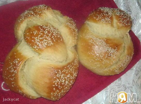 Рецепт Сладкая хала