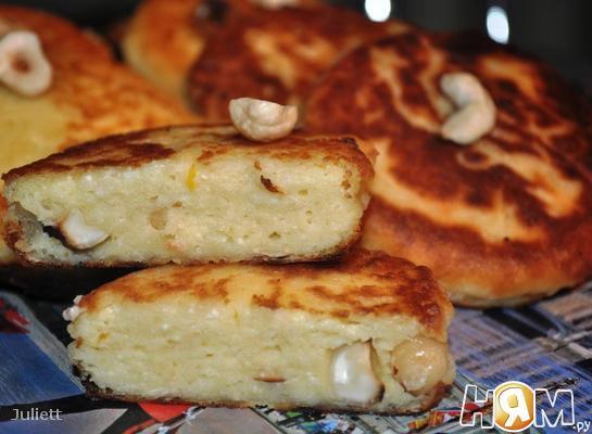 Ореховые сырники