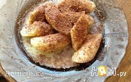 Жареные бананы с ромом и орехами