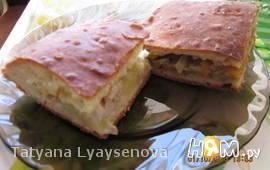 Пирог (тесто из холодильника)