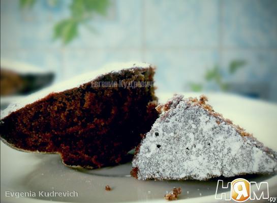 Шведский шоколадный пирог