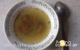 Лёгкий грибной суп