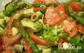 Лёгкий овощной салат