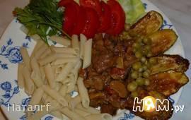 Рубленое мясо с грибами