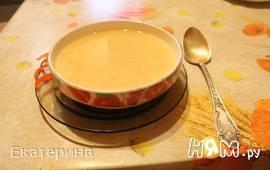 Суп-пюре с консервированным лососем