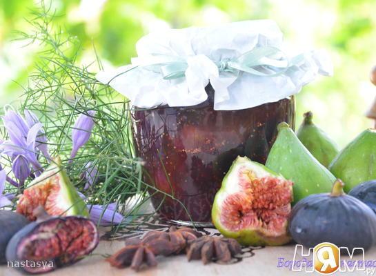 Рецепт Варенье из инжира со специями