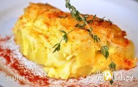 """Запеканка """"4 сыра"""" с картофелем"""