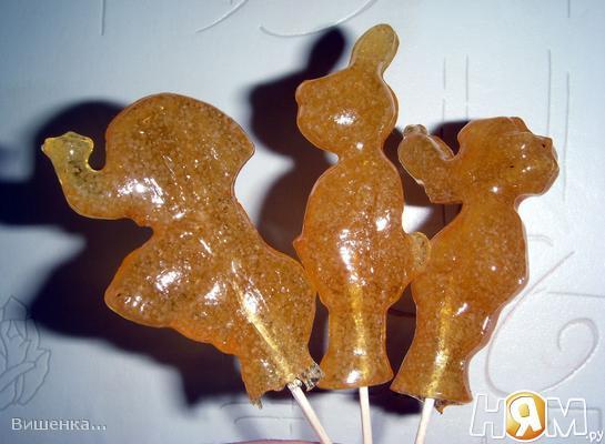 Рецепт Домашние леденцы из сахара