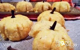 Печенье-тыковки из кукурузной муки