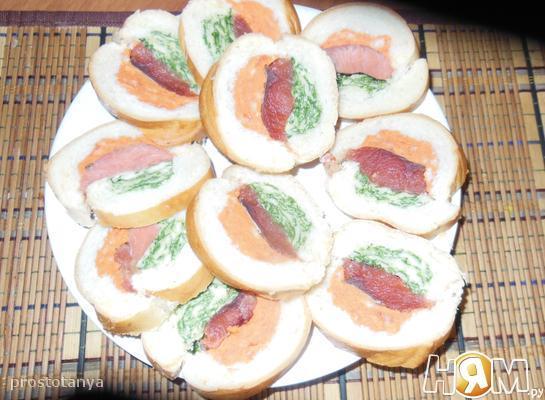 """Бутерброды """"Красивые"""""""